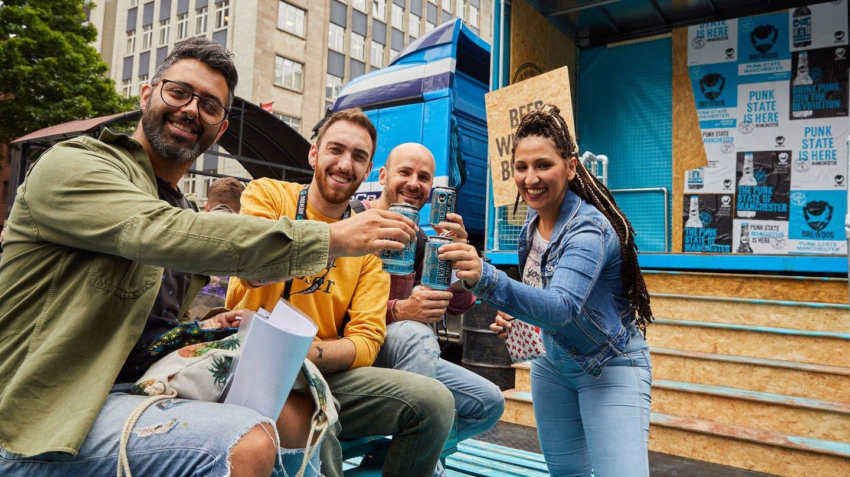 BrewDog, Punk State, Guests Enjoying BrewDog | Amplify Brand Experience Agency