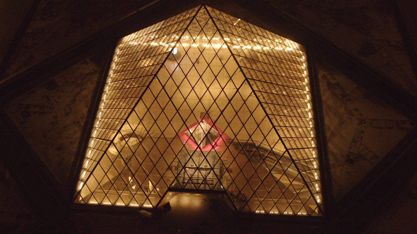 AirBnB, Night At The Louvre, Aerial Shot | Amplify Brand Experience Agency