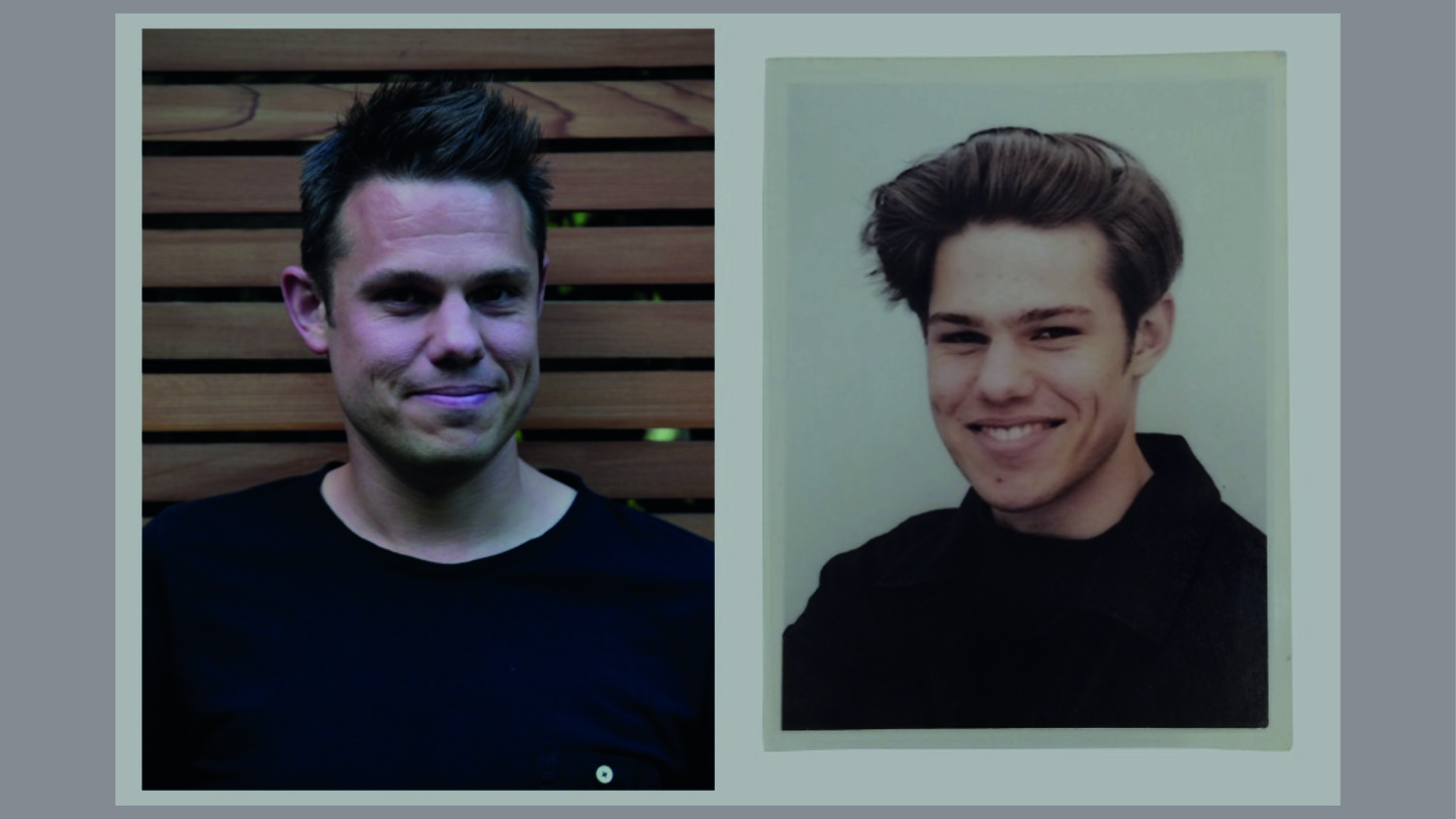 Jonathan Emmins Younger Self | Amplify Brand Experience Agency