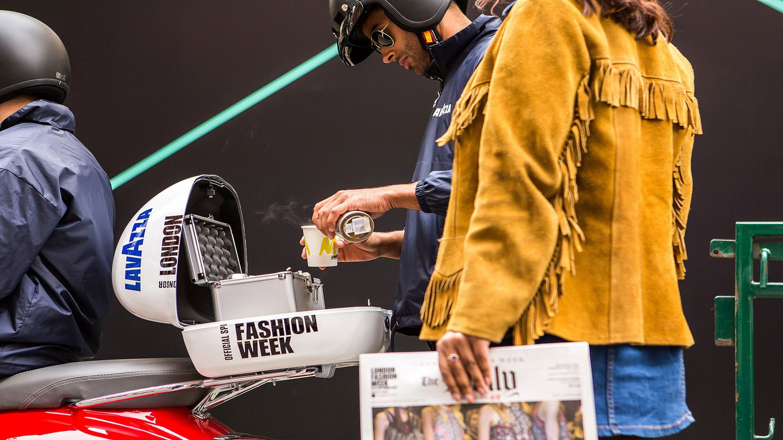 Lavazza, London Fashion Week | Amplify Brand Experience Agency