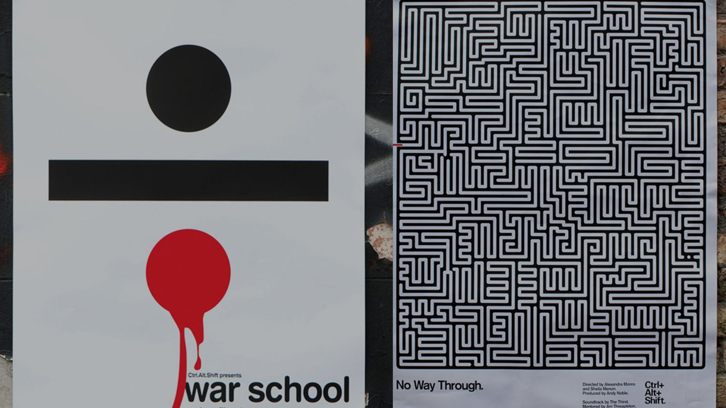 War School Charity Poster | Amplify Brand Experience Agency