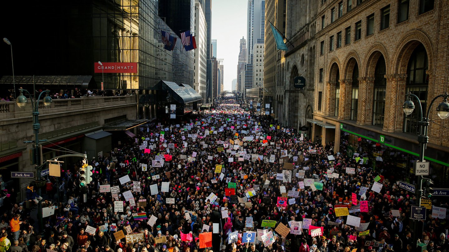 Women's March| Amplify Brand Experience Agency